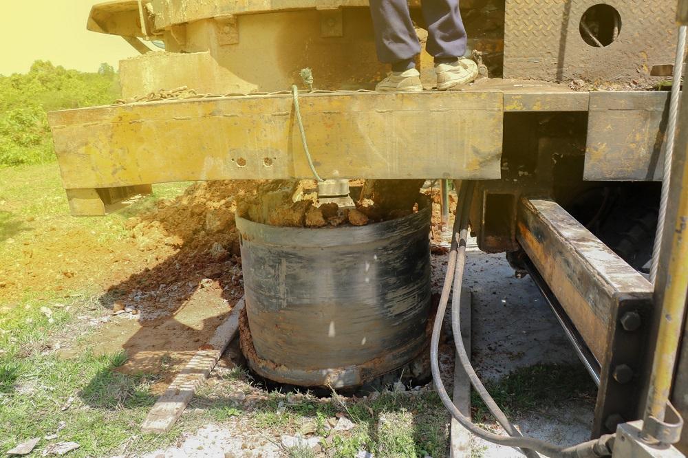 odwiert studni głębinowej